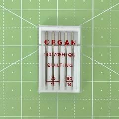 Organ иглы Квилтинг 5/75-90