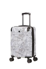 Чемодан Wenger Cascade, белый с принтом, 35x23x49 см, 39 л