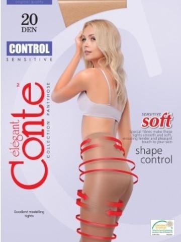 Conte Control Колготки женские 20d, p.3 natural