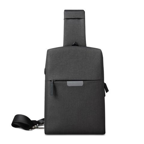 Рюкзак на одной лямке WiWU Onepack тёмно-серый