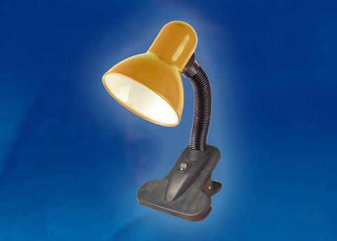 TLI-222 Светильник настольный. Цоколь E27. Цвет оранжевый (яркий)