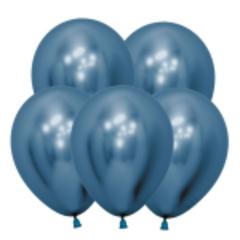 S 12 Зеркальные шары Рефлекс Синий / Reflex Blue / 5 шт. /