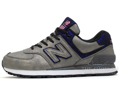 Кроссовки Женские New Balance 574 Metallic Pack Emerald