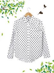 21053 рубашка женская, белая