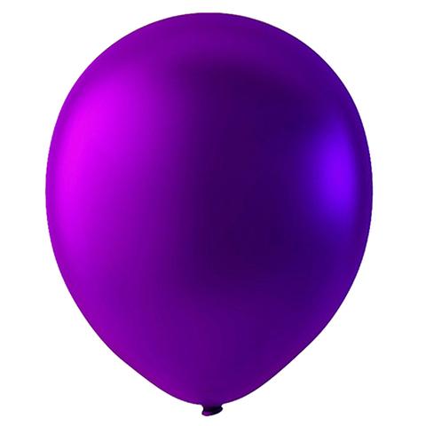 Шар Пурпурный Металлик, 30 см