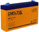 Аккумулятор Delta HR 6-7.2 ( 6V 7Ah / 6В 7Ач ) - фотография