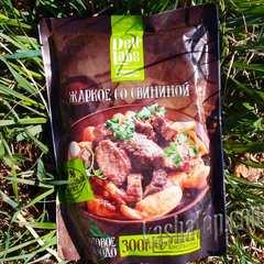 Жаркое со свининой 'DeliLabs', упаковка | магазин походной еды Каша из топора