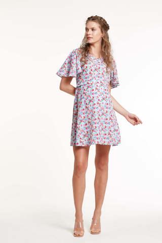 Платье для беременных 11450 цветочный принт