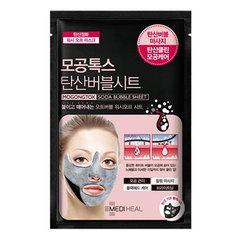 Mediheal Pore Tox Soda Bubble Sheet Mask - Тканевая маска для лица