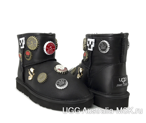 UGG & Jimmy Choo Mini Coco Chanel Black