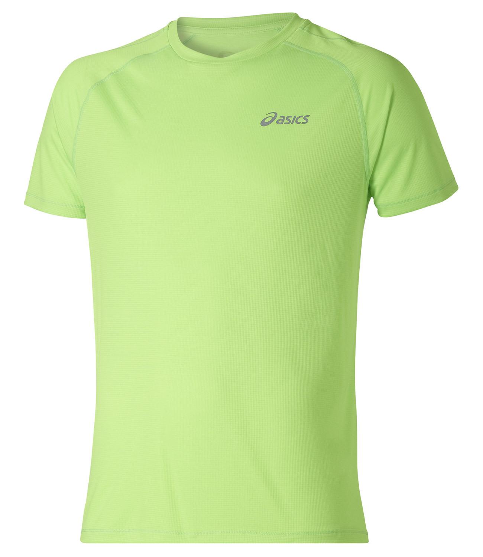 Мужская футболка для бега Asics SS Top (110407 0496) lime