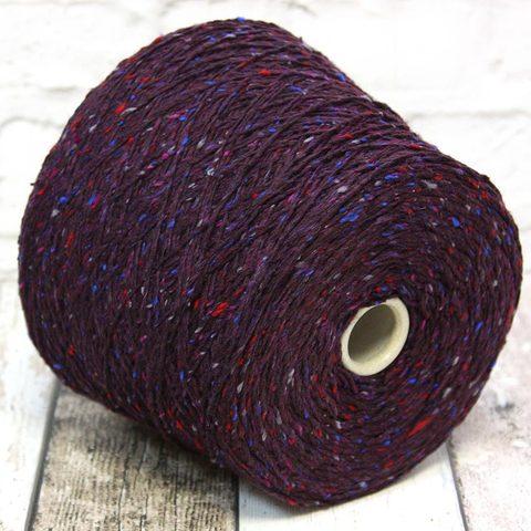 Твид c хлопком OLIMPICO 200 фиолетовый