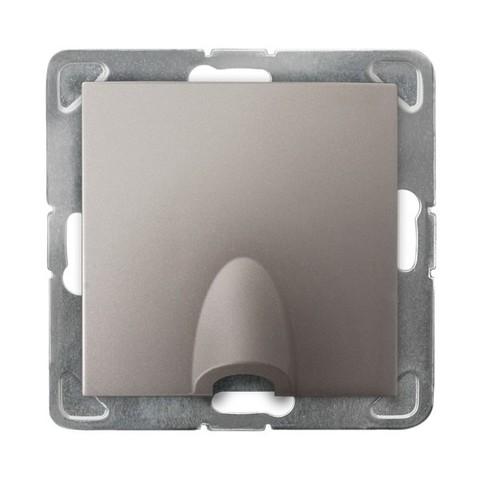 Вывод кабеля. Цвет Титан. Ospel. Impresja. GPPK-1Y/m/23