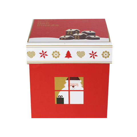 Коробочка Christmas Santa Red