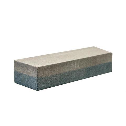 Брусок абразивный КОБАЛЬТ прямоугольный, 150х50х30 мм, P120/P240. коробка