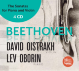 David Oistrakh, Lev Oborin / Beethoven: The Sonatas For Piano And Violin (4CD)