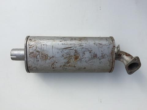 Резонатор ГАЗ 2412, 31022 Баксан