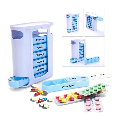 Контейнер для таблеток «Неделька» Bradex