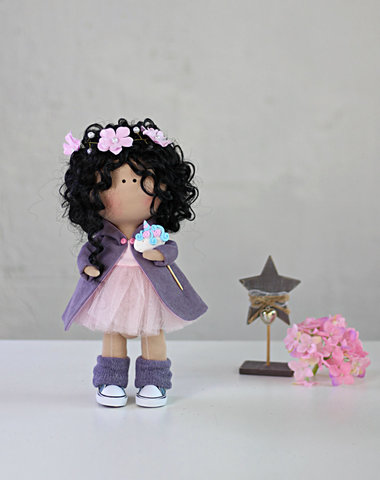 Кукла Мириам. Коллекция Flower doll