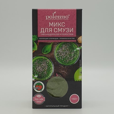 Микс для смузи POLEZZNO, 150 гр
