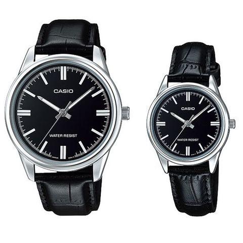 Купить Парные часы Casio Standard: MTP-V005L-1AUDF и LTP-V005L-1AUDF по доступной цене