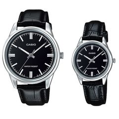 Парные часы Casio Standard: MTP-V005L-1AUDF и LTP-V005L-1AUDF