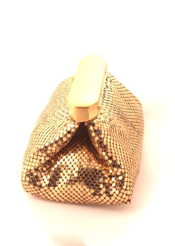 Золотая вечерняя сумочка от Whiting and Davis
