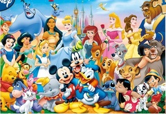 Puzzle The Wonderful World Of Disney Puzzle 100 Pieces