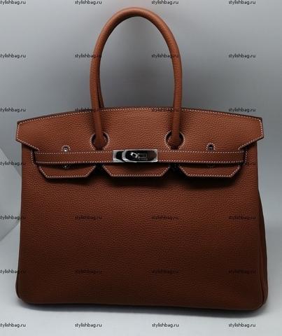 Женская сумка Hermes Birkin 35 camel togo