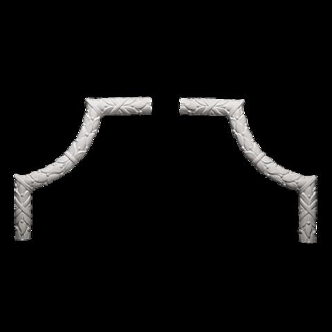 Угловой элемент Европласт из полиуретана 1.52.300, интернет магазин Волео