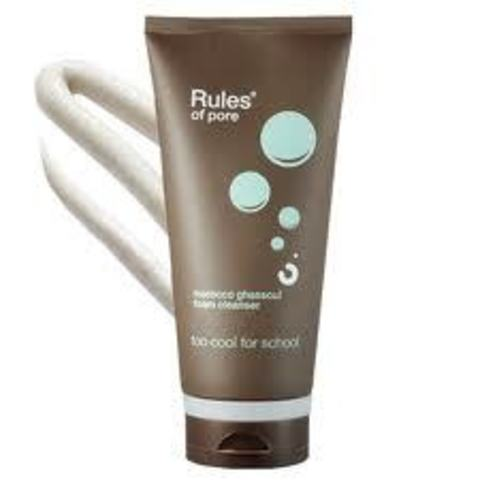 Too Cool For School Rules Of pore morocco ghassoul foam cleanser 150 ml Очищающая пенка для умывания