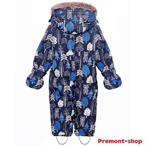 Детский комбинезон Premont Кермодские медвежата WP92059 BLUE