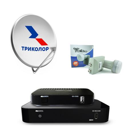 Комплект Триколор ТВ на 2 телевизора с приемниками B528/C592