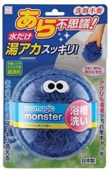 KOKUBO Ecomagic monster Чудоспонж для ванной без использования моющих средств (синий)