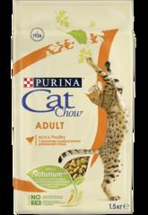 Корм для взрослых кошек, Purina Cat Chow, с домашней птицей