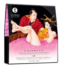 Соль для ванны SHUNGA Lovebath Dragon Fruit, превращающая воду в гель - 650 гр.