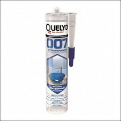 Клей-герметик QUELYD 007 Crystal Clear (Прозрачный)