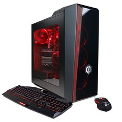 CYBERPOWERPC Gamer Master GMA2400A Desktop Gaming PC (AMD Ryzen 7 1700X 3.4GHz, NVIDIA GTX 1070 8GB, 16GB DDR4 RAM, 1TB 7200RPM HDD, 120GB SSD, Win 10 Home, 7 Colors),Black