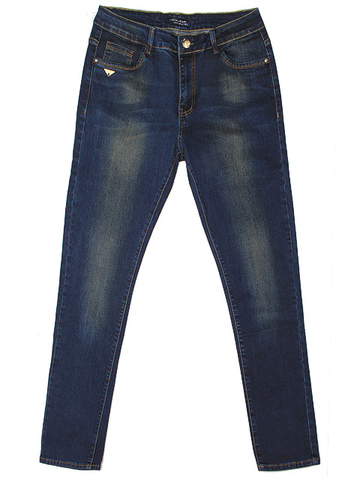 C6165 джинсы женские, синие