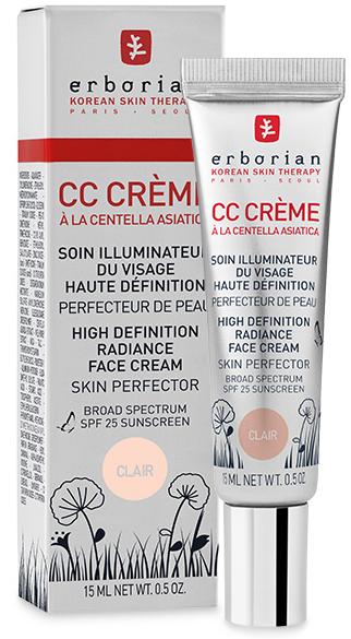 erborian Centella Asiatica CC-крем Clair 15 мл