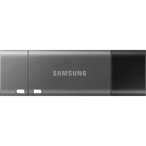 Флешка Samsung 128GB DUO Plus USB-C с USB-адаптером Type-A