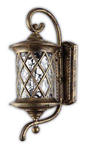Светильник садово-парковый, 60W 220V E27 черное золото , IP44 , PL5021 (Feron)