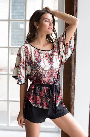 Комплект женский хлопковый с шортами MIA-MIA  Shakira ШАКИРА 16072
