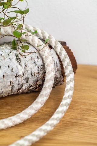 Хлопковый шнур с наполнителем 9 мм, 2 цвета