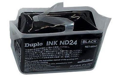 Кpаска чеpная DA14 для Duplo DP-A100, 600 мл. DUP90110_1