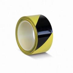 Лента для разметки ПВХ 50мм х 33м желто-черная (KMLW050165)