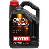 Motul 8100 Eco clean plus 5W30 С1 Синтетическое моторное масло