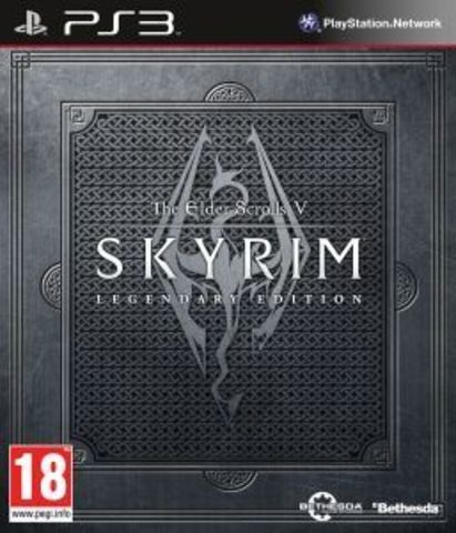 PS3 The Elder Scrolls V: Skyrim Legendary Edition (английская версия)