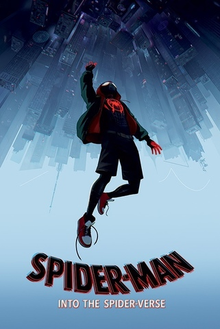 Постер Spider-Man Into The Spider-Verse (Fall) 215-PP34417