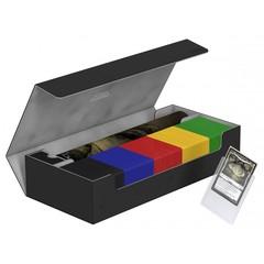 Ultimate Guard - Черная кожаная коробочка для хранения 500+ карт